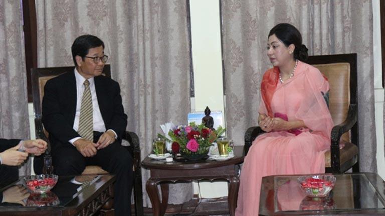 अध्यक्ष राणा र एपीओ महासचिव बीच महासंघ सचिवालयमा भेटवार्ता (२०७५/०३/१३)