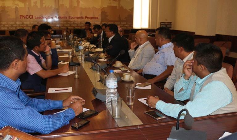 जीएसटी करका विषयमा महासंघ सचिवालयमा समीक्षात्मक बैठक सम्पन्न (२०७४/४/११)