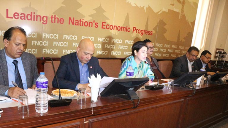 नेपाल उद्योग वाणिज्य महासंघद्वारा आज पत्रकार सम्मेलन मार्फत सार्वजनिक गरिएको आर्थिक वर्ष २०७५/७६ को बजेट माथि महासंघको धारणा (२०७५/०२/१७)