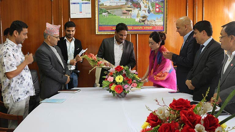 Meeting with Hon\'ble Supply Minitser