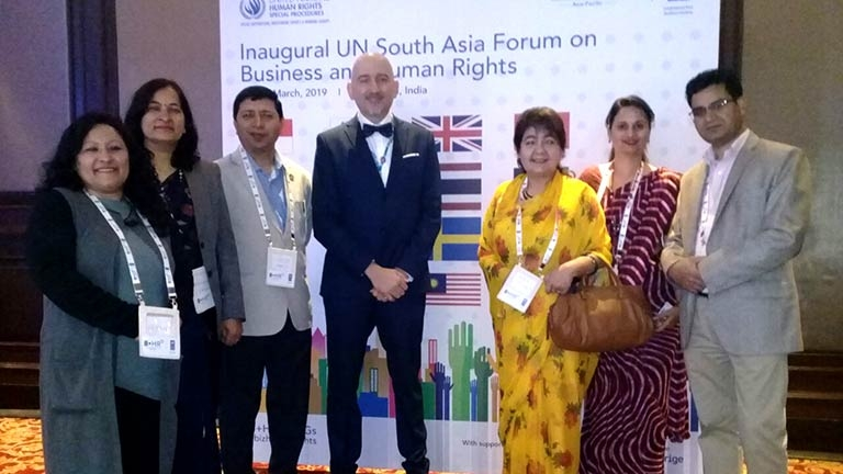 FNCCI Participation in UN South Asia Forum on Business and Human Rights