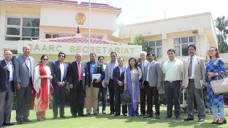 FNCCI Delegation meet SAARC Secretary General