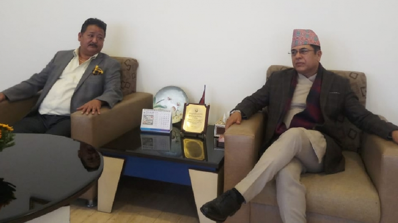 Meeting with NRB Governor