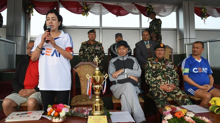 Friendly Football Match Inauguration on the occasion of 7th National Tax Day 2075