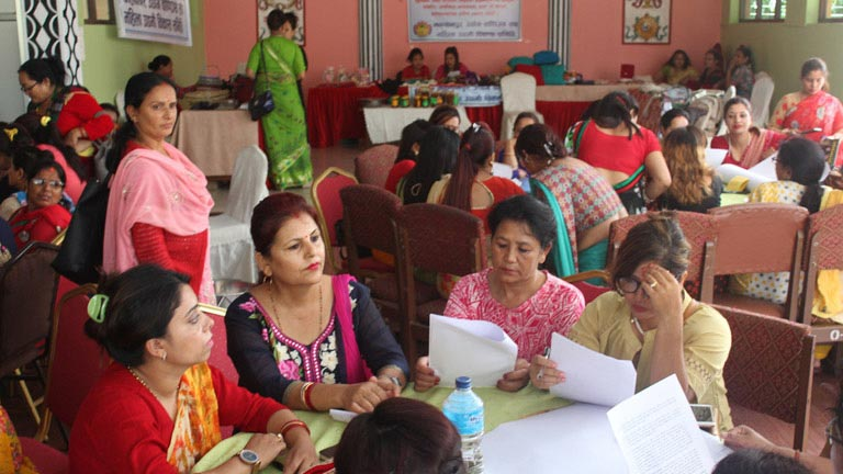 Interaction Program on the Role of Women Entrepreneurs