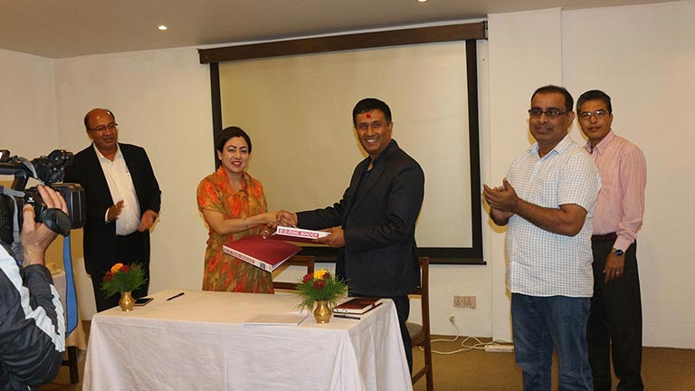 Signing MoU on Rural Enterprises and Remittence - RER SAMRIDDHI