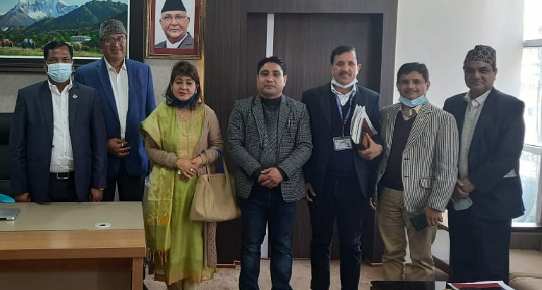 FNCCI Delegation met Honourble Minister for Labour, Employment and Social Security
