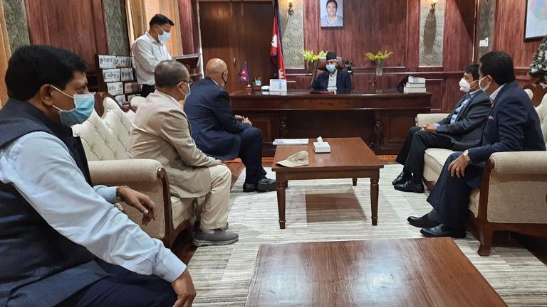 FNCCI Delegation meet Rt. Hon'ble Prime Minister Sher Bahadur Deuba
