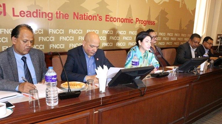 FNCCI Press Meet on Budget 2075/2076