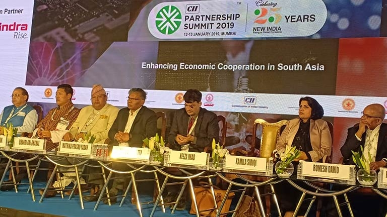FNCCI's Participation in CII Partnership Summit