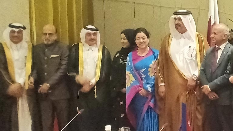 FNCCI Business Delegation in the Rt. Honourable President of Nepal's Official Visit to State of Qatar