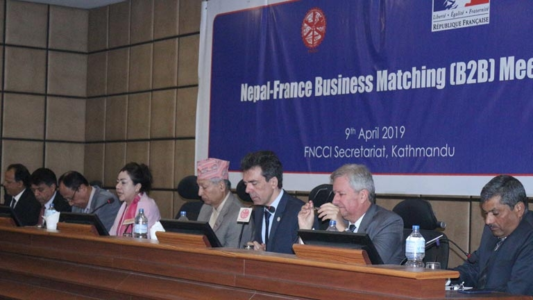 Nepal-France Business Matching (B2B) Meeting