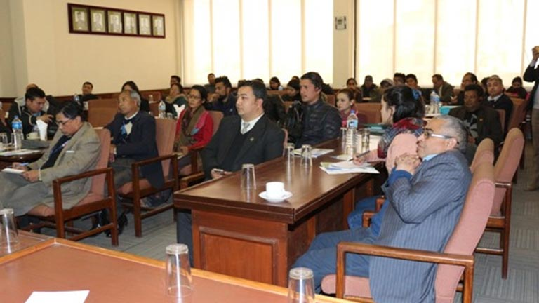 Interaction Program on localization of new urban agenda in federal Nepal