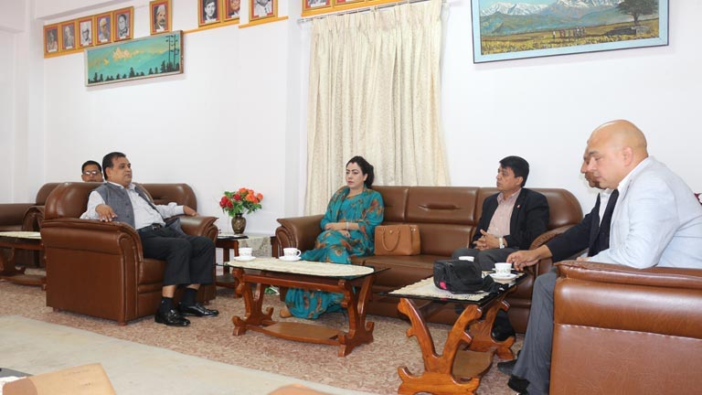 Meeting with Dy. Prime Minister