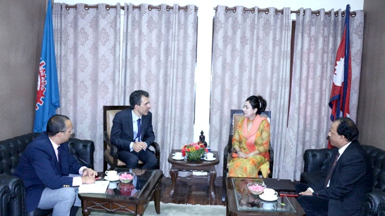 Meeting with France Ambassador