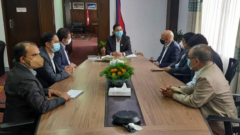 FNCCI Delegation meet Hon'ble Finance Minister Janardan Sharma