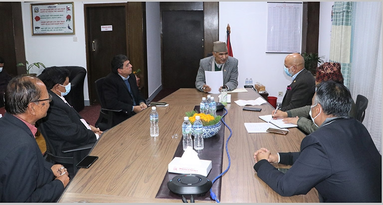 Meeting with Hon'ble Finance Minister