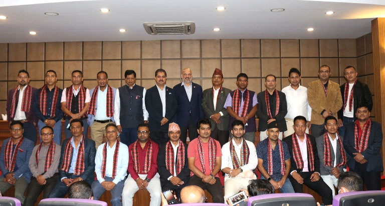 FNCCI Welcomed newly elected Team of Floriculture Association Nepal, Nepal LP Gas Industry Asso and Nepal Trans Himalayan Border Commerce Asso