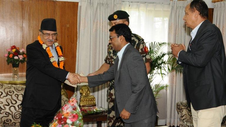 FNCCI Delegation meet Rt. Hon\'ble Prime Minister