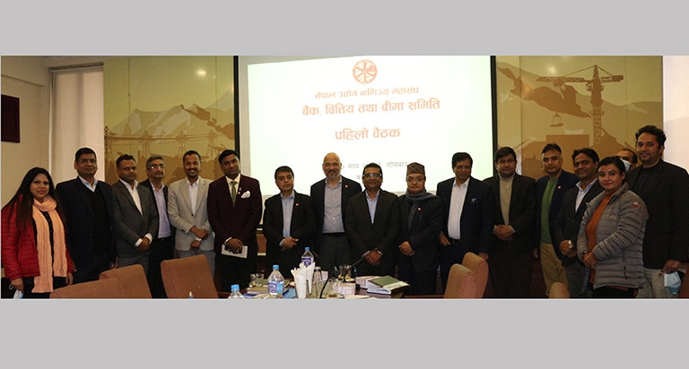 FNCCI Banking, Finance and Insurance Committee formed