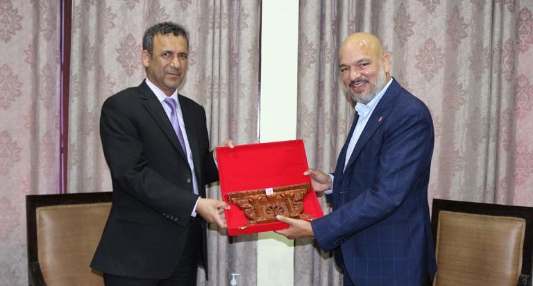 Meeting with UAE Ambassador to Nepal