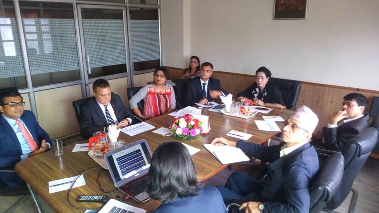 Meeting with IFC/ The world Bank