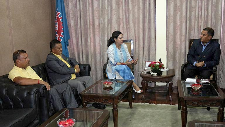 Meeting with H.E. The Nepalese Ambassador to Spain